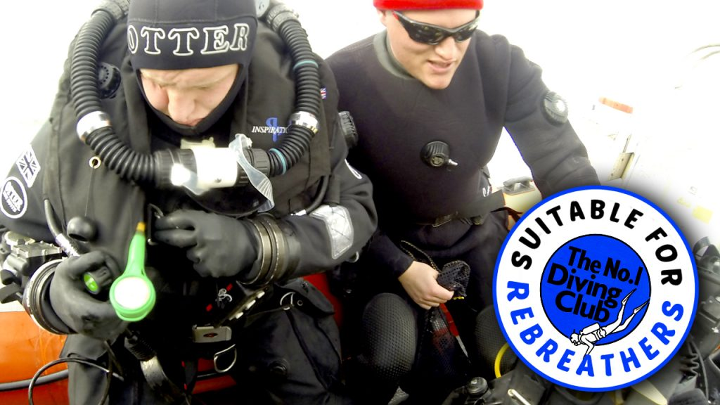 Suitable for rebreather divers