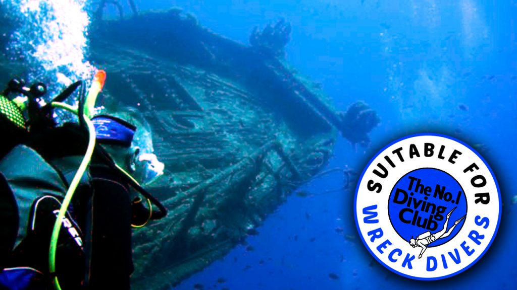 Suitable for wreck divers